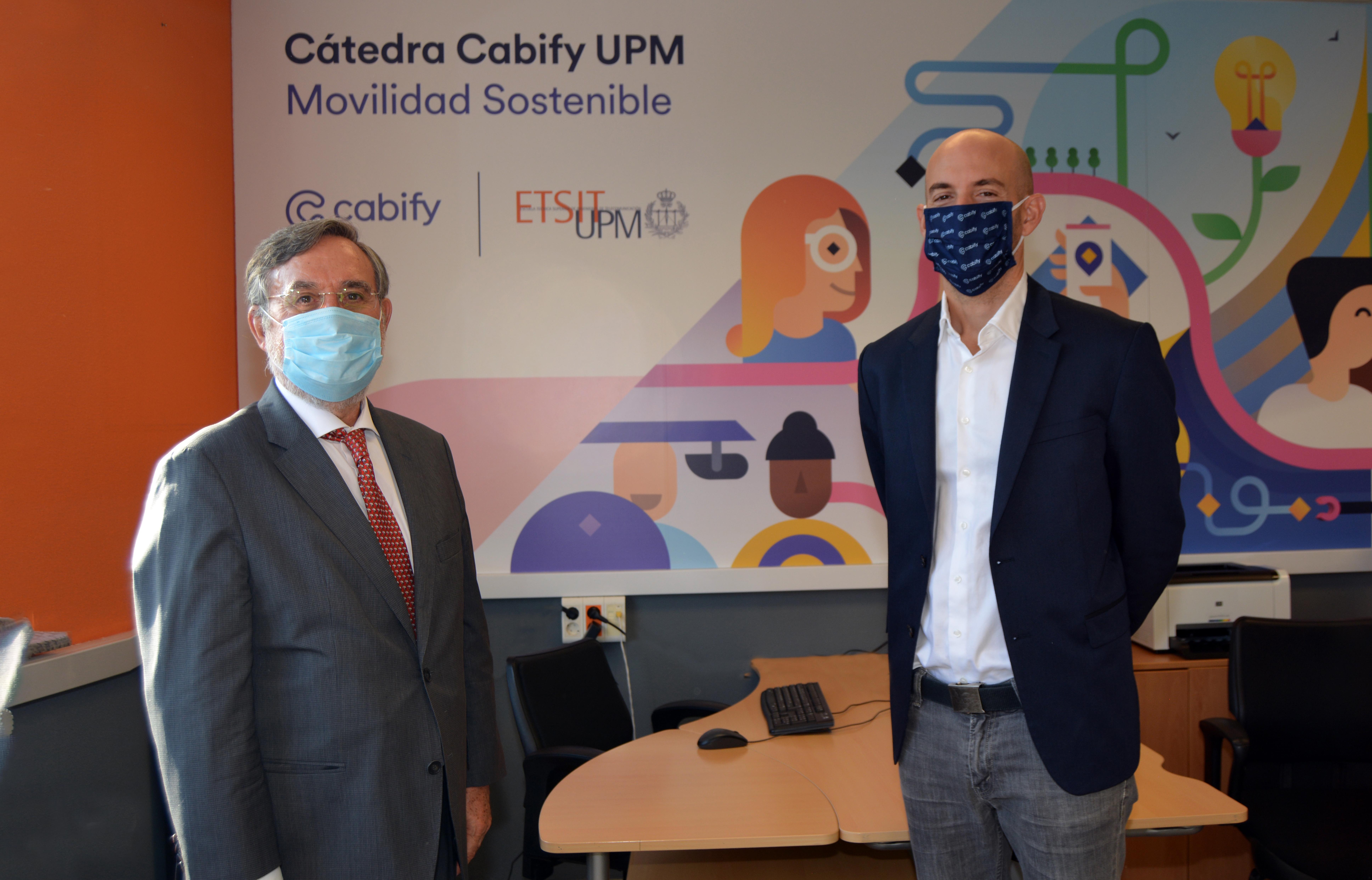La ETSIT firma una cátedra con Cabify